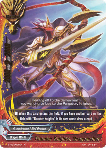 X-BT01A-CP01/0056 Thunder knights, Dragoarcher (C)