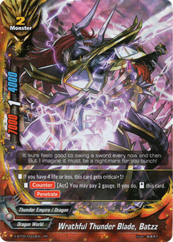 WRATHFUL THUNDER BLADE, BATZZ (RR)