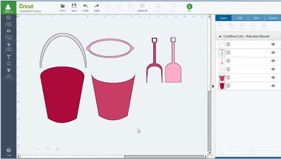 Video Tutorial - How to Change Colors on SVG Cutting Files in Cricut Design Space