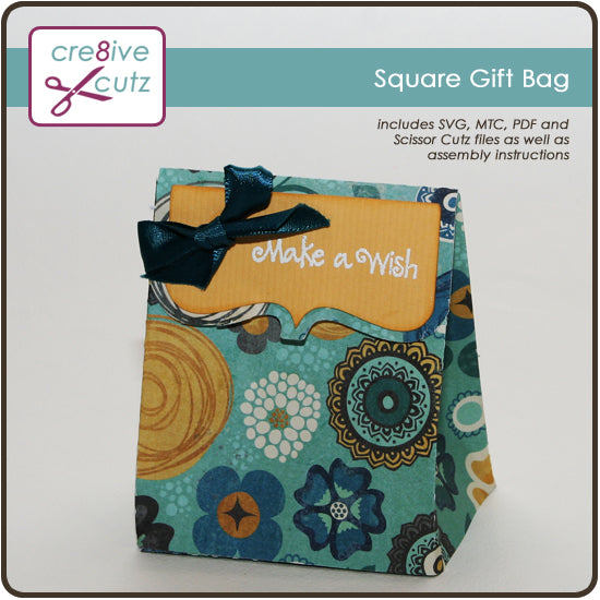 Image of Paper gift bag Free Craft Project