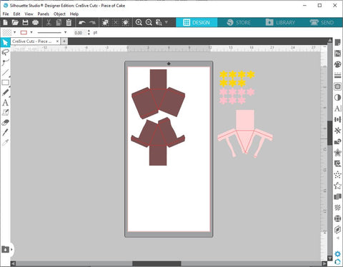 Red core lines on 3D SVG files in Silhouette Studio