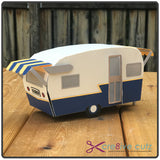 Vintage travel trailer 3D SVG Pattern for Cricut Design Space