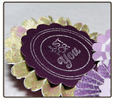Set of 3 Rosettes