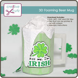 3D Foaming Beer Mug