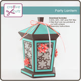 Party Lantern 3D Papercraft Project