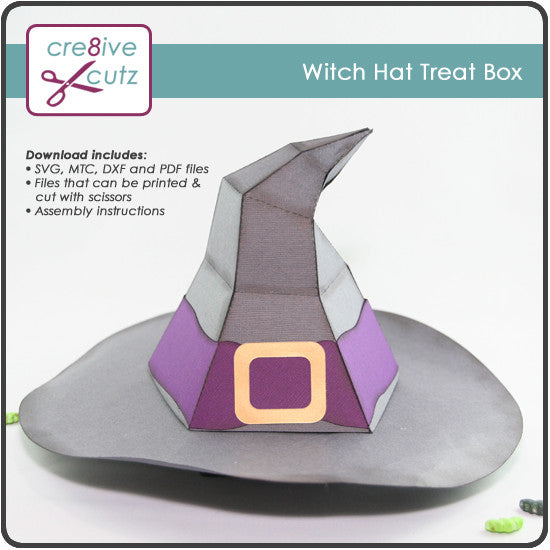 Witch Hat Treat Box