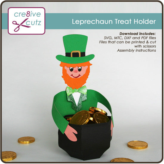 Leprechaun Treat Holder