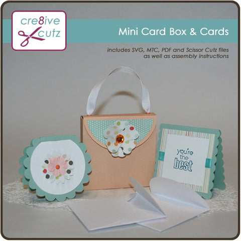 Mini Card Box & Cards