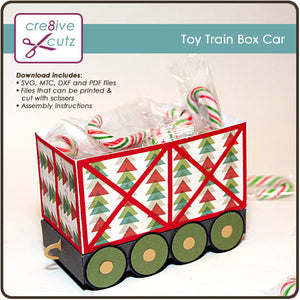 Toy Train Box Car