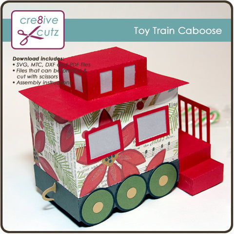 Toy Train Caboose