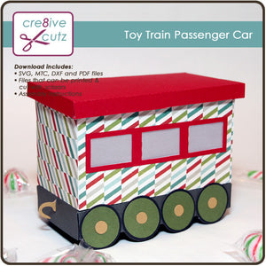 Toy Train Passenger Car