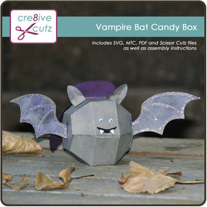 Vampire Bat Candy Box