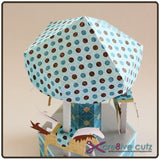 Carousel Box 3D Paper Crafting Pattern