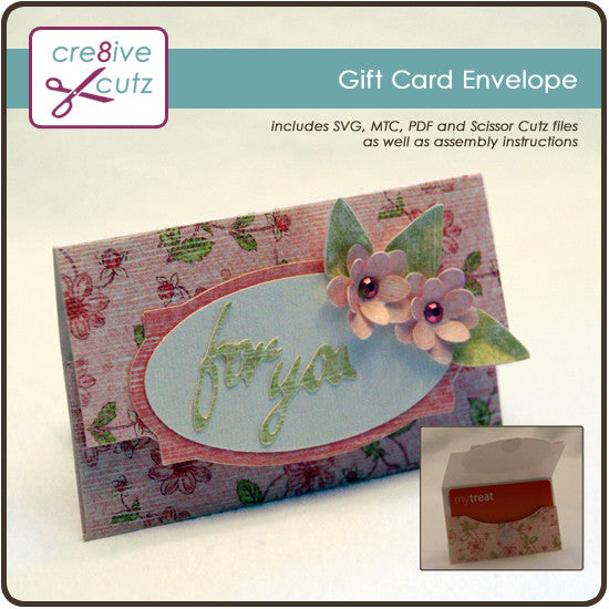 Gift Card Envelope