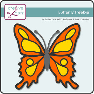 Butterfly - Free Papercrafting Pattern