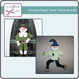 Jointed Paper Dolls Value Bundle