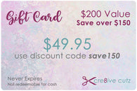 $200 Gift Card for $49.95 - Save over $150