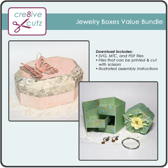 Jewelry Boxes Value Bundle