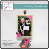 Standing Photo Frame 3D Papercraft Project