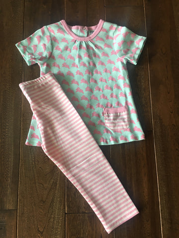 Three Sisters Baby Bunny Leggings Set