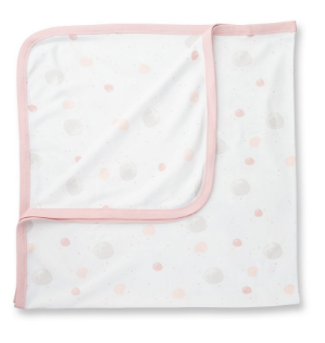 Blushing Orbit Snuggle Wrap Blanket