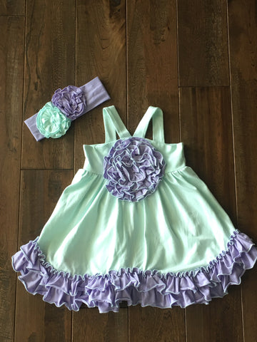 Serendipity Secret Garden Rosette Dress