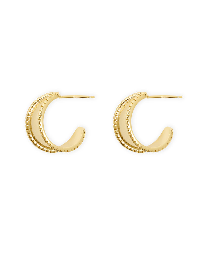 Henrietta Hoop Earrings