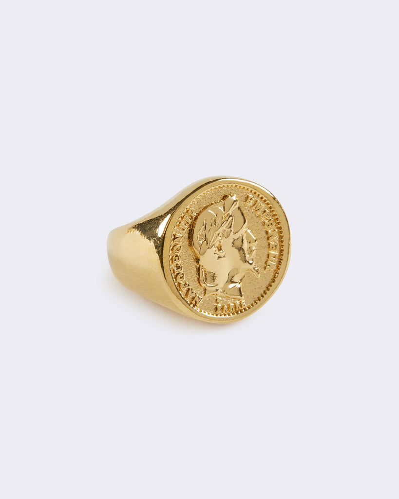 Large Coin Ring