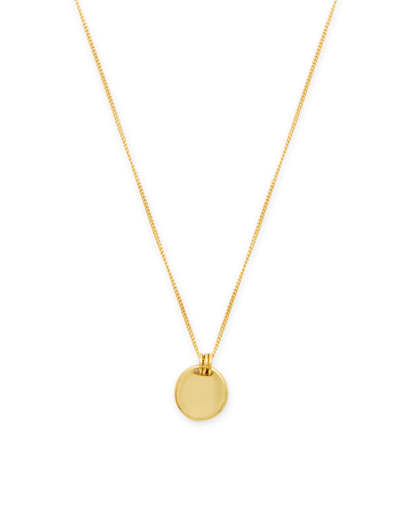 Mia Disc Necklace