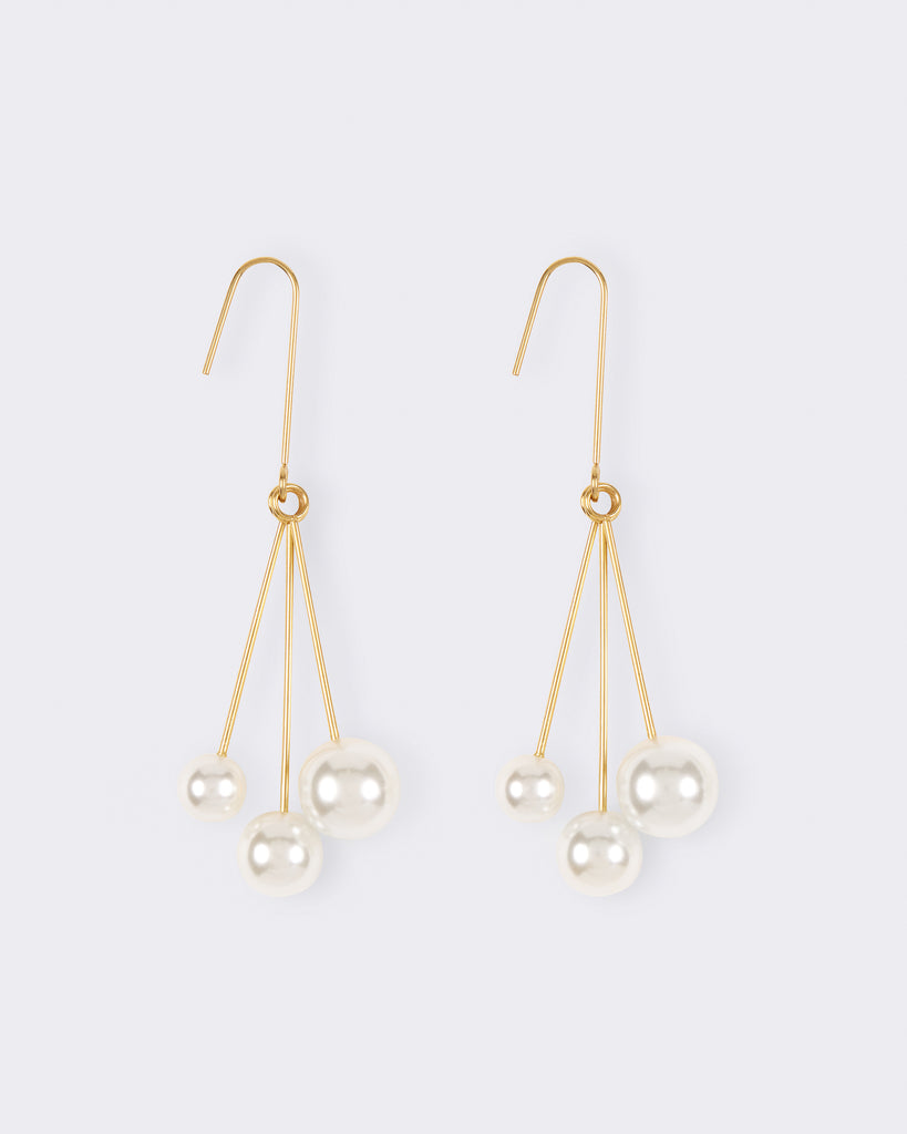 Bobble Pearl Earrings