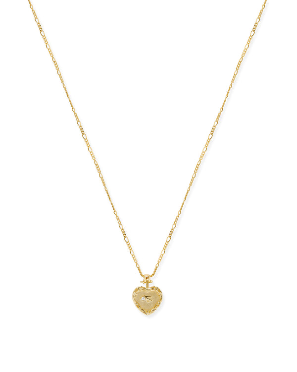 Claudette Heart Necklace