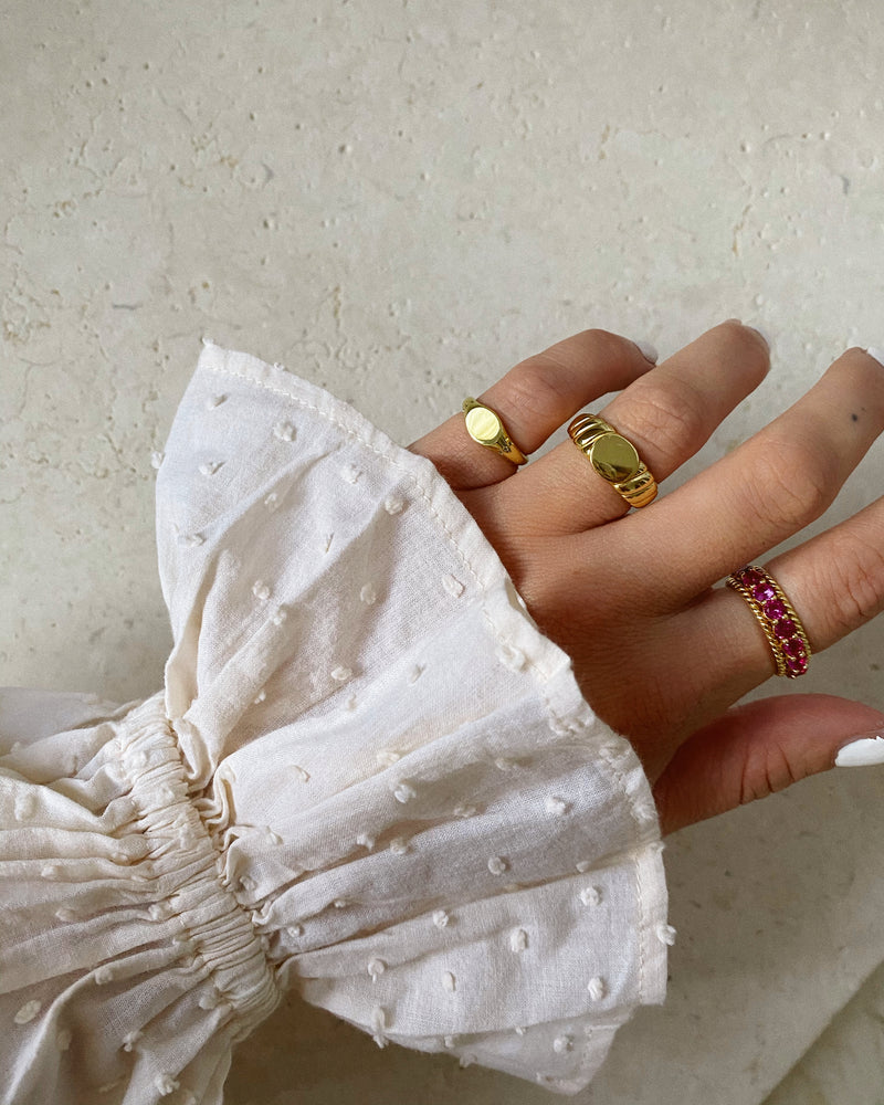 Fine Pinky Signet Ring