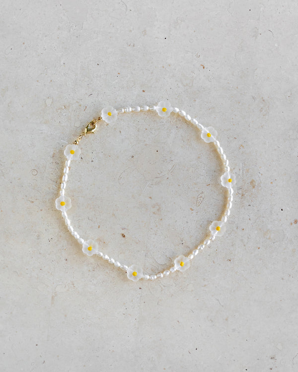Daisy Bead Necklace