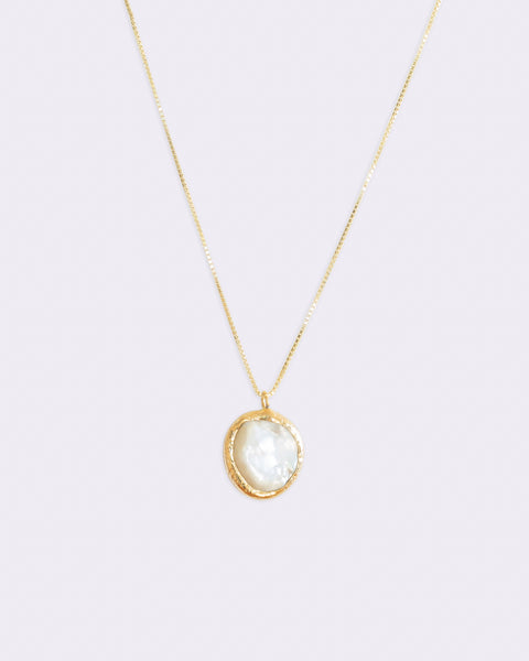 Keshi Pearl Necklace