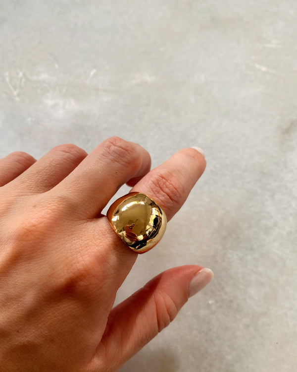 Large Gold Ring