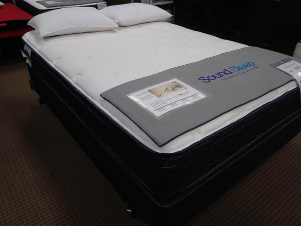 Auburn Eurotop Queen Mattress Mattress Sound Sleep Products