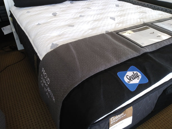 Sealy XL Twin Etherial Gold Plush Mattress Sealy