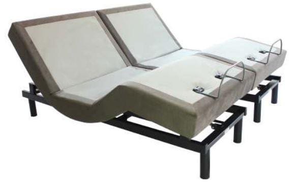 BT2000 Split King Adjustable Bases Adjustable Base Bed Tech