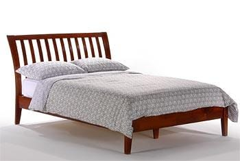 Platform Bed_Nutmeg Platform Bed_sleep-bargains