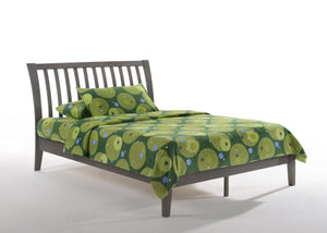 Night & Day Platform Bed Twin / StoneWash Nutmeg Platform Bed