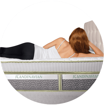 Scandanavian Stockholm Queen Mattress