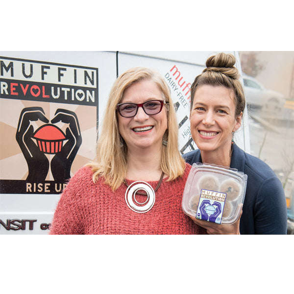 Muffin Revolution Co-Founders, Marirose Piciucco & Christy Kovacs