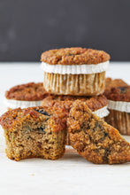 Load image into Gallery viewer, Muffin Revolution Banana Blueberry paleo muffins Gluten-Free