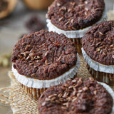 Muffin Revolution Vegan Carrot Raisin paleo muffins Gluten-Free
