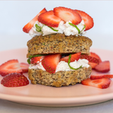 Muffin Revolution Recipe Idea Paleo Lemon Strawberry Shortcake
