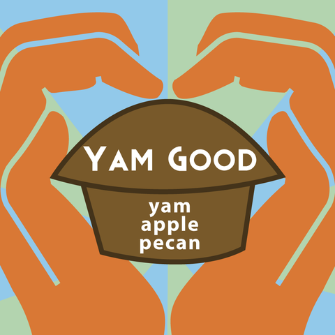 Yam Good (pack of 4 muffins)