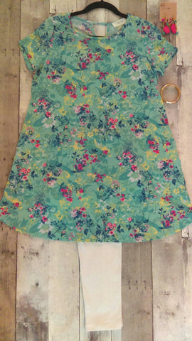 Floral Dress Tunic (S)