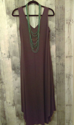 Olive Green Maxi Dress (XL)