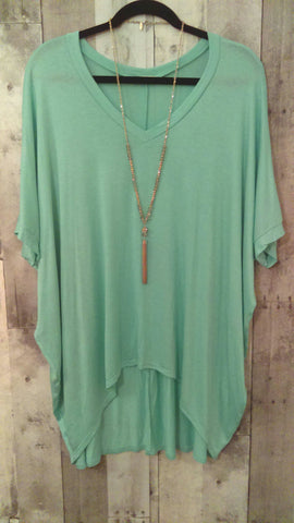 Mint Green Swing Top (M)