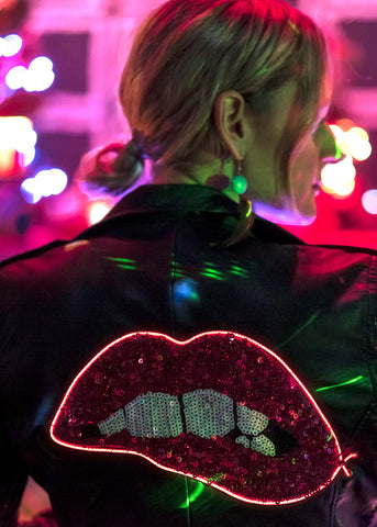 Electric Lips (Vegan Leather) Jacket